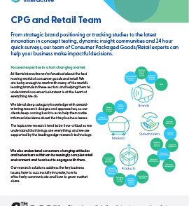 CPG and Retail Teamimage