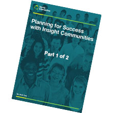 Planning for Success with Insight Communities image